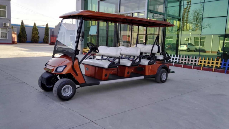 Golf Carts L6A Orange