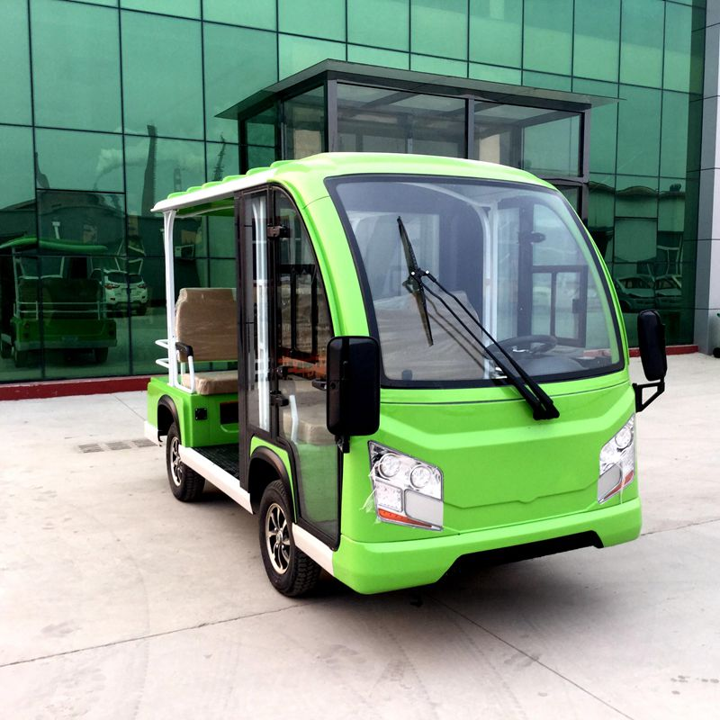 Electric Sightseeing Cars A8 Front door closed