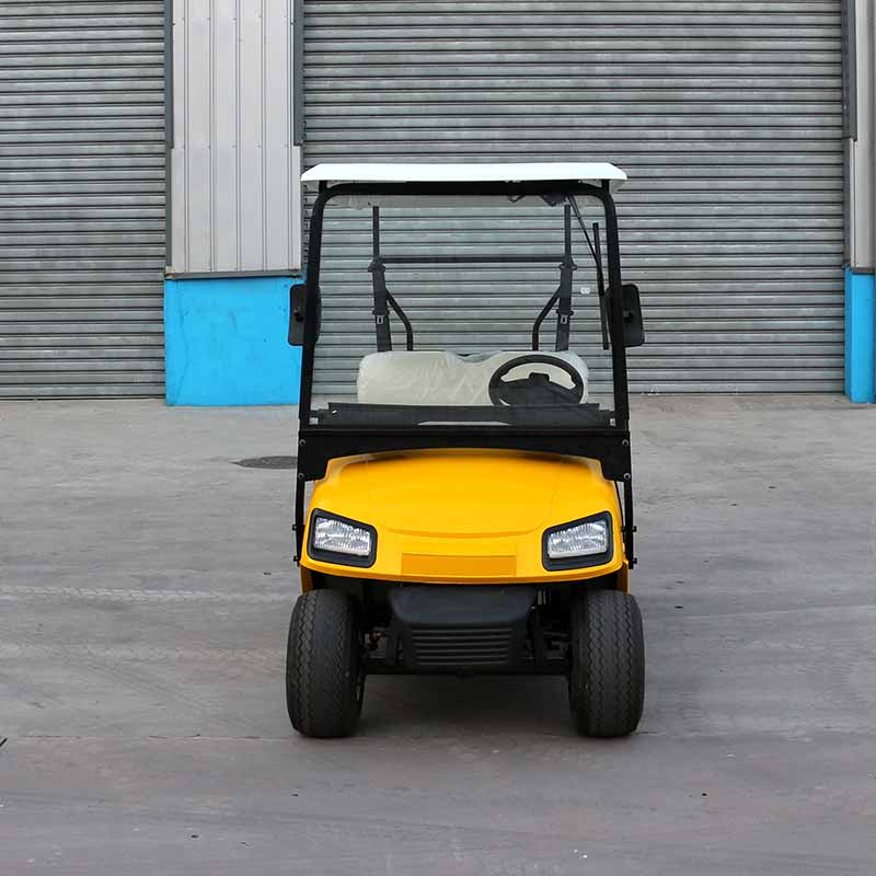 Sale Electric Golf Carts L2 Yellow - Electric Golf Carts -