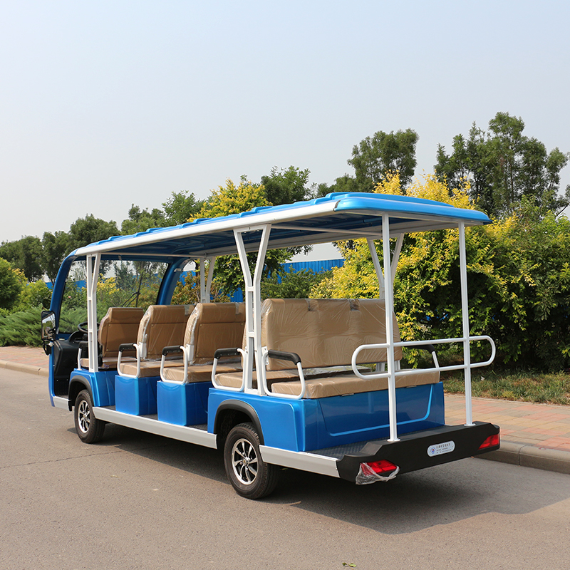 Electric Sightseeing Cars A14 Blue