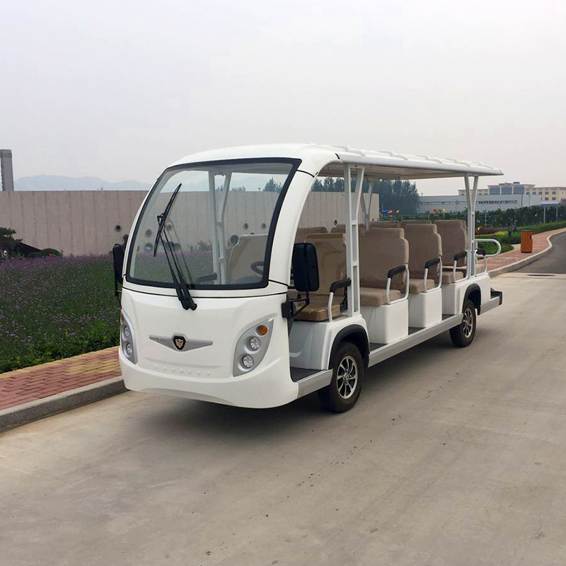 Electric Sightseeing Cars A14 White
