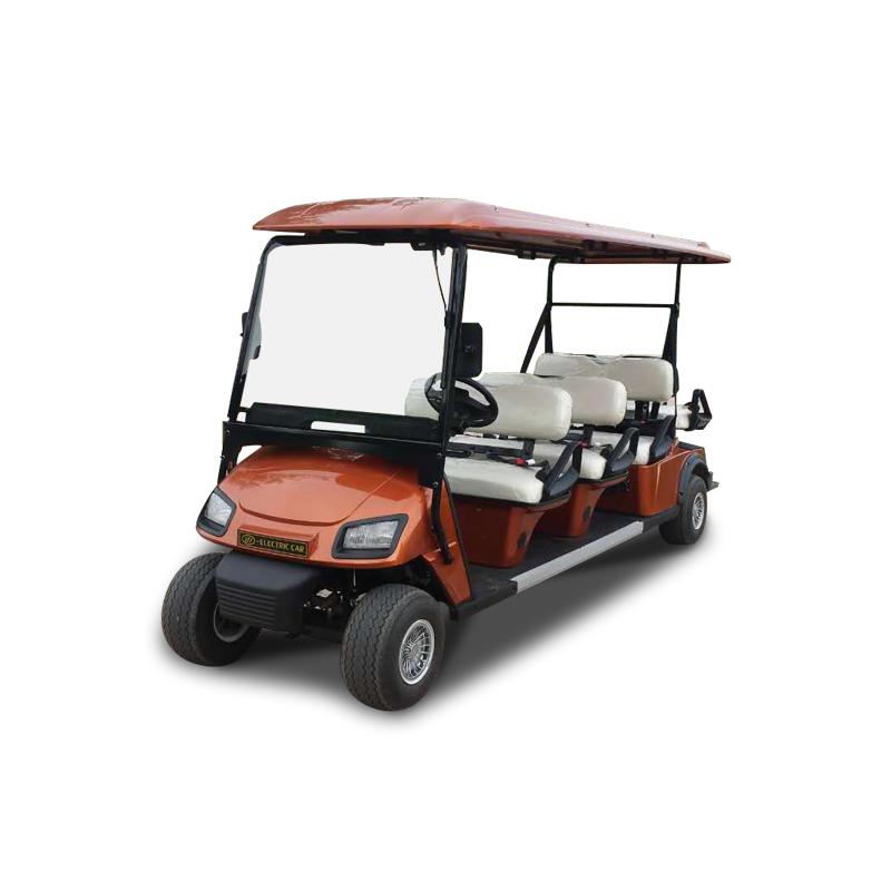 Electric Golf Carts L6A Orange